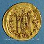 Münzen Empire romain d'Orient. Basiliscus (475-476). Solidus. Constantinople