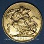 Münzen Australie. Edouard VII (1901-1910). Souverain 1910M. Melbourne. (PTL 917‰. 7,99 g)