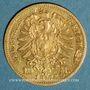 Münzen Bade. Frédéric I, grand duc (1856-1907). 10 mark 1872 G. (PTL 900‰. 3,98 g)