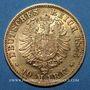 Münzen Bade. Frédéric I, grand duc (1856-1907). 10 mark 1875 G. (PTL 900‰. 3,98 g)