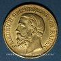 Münzen Bade. Frédéric I, grand duc (1856-1907). 10 mark 1876 G. (PTL 900/1000. 3,98 g)