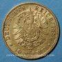 Münzen Bade. Frédéric I, grand duc (1856-1907). 10 mark 1881 G. (PTL 900‰. 3,98 g)