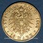 Münzen Bade. Frédéric I, grand duc (1856-1907). 10 mark 1888 G. (PTL 900‰. 3,98 g)