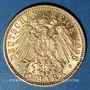 Münzen Bade. Frédéric I, grand duc (1856-1907). 10 mark 1898 G. (PTL 900‰. 3,98 g)