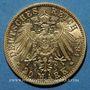 Münzen Bade. Frédéric I, grand duc (1856-1907). 20 mark 1894 G. (PTL 900‰. 7,96 g)