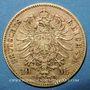 Münzen Bavière. Louis II (1864-1886). 10 mark 1872 D. (PTL 900‰. 3,98 g)