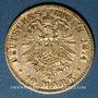Münzen Bavière. Louis II (1864-1886). 10 mark 1874 D.  (PTL 900‰. 3,98 g)