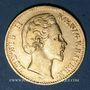 Münzen Bavière. Louis II (1864-1886). 10 mark 1875 D.  (PTL 900‰. 3,98 g)