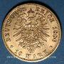 Münzen Bavière. Louis II (1864-1886). 10 mark 1880 D.  (PTL 900‰. 3,98 g)