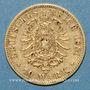 Münzen Bavière. Louis II (1864-1886). 10 mark 1881 D.  (PTL 900‰. 3,98 g)