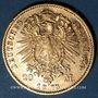 Münzen Bavière. Louis II (1864-1886). 20  mark 1873 D. (PTL 900‰. 7,96 g)