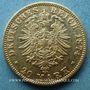 Münzen Bavière. Louis II (1864-1886). 20  mark 1874 D. (PTL 900‰. 7,96 g)