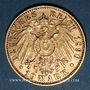 Münzen Bavière. Otto (1886-1913). 10 mark 1890 D.  (PTL 900‰. 3,98 g)
