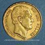 Münzen Belgique. Léopold I (1831-1865). 20 francs 1865. L. WIENER. (PTL 900‰. 6,45 g)