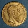 Münzen Belgique. Léopold II (1865-1909). 20 francs 1875. (PTL 900‰. 6,45 g)