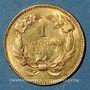 Münzen Etats Unis. 1 dollar 1855. (PTL 900‰. 1,67 g)