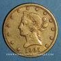 Münzen Etats Unis. 10 dollars 1905 S. San Francisco (PTL 900‰. 16,71 g)