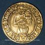 Münzen Francfort. Frédéric III (1481-1493). Florin d'or