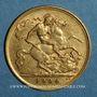 Münzen Grande Bretagne. Edouard VII (1901-1910). 1/2 souverain 1904. (PTL 917‰. 3,99 g)