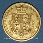 Münzen Grande Bretagne. Victoria (1837-1901). 1/2 souverain 1885. (PTL 917‰. 3,99 g)