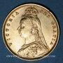 Münzen Grande-Bretagne. Victoria (1837-1901). 1/2 souverain 1892. (PTL 917‰. 3,99 g)