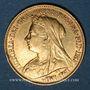 Münzen Grande Bretagne. Victoria (1837-1901). 1/2 souverain 1894. (PTL 917‰. 3,99 g)