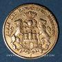 Münzen Hambourg. 10 mark 1879 J. (PTL 900‰. 3,98 g). Montée