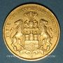 Münzen Hambourg. 10 mark 1888 J. (PTL 900‰. 3,98 g). Montée