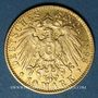 Münzen Hambourg. 10 mark 1898 J. (PTL 900‰. 3,98 g)