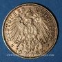 Münzen Hambourg. 10 mark 1905 J. (PTL 900‰. 3,98 g)