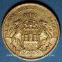 Münzen Hambourg. 20 mark 1878 J. (PTL 900‰. 7,96 g)