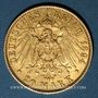 Münzen Hambourg. 20 mark 1894 J. (PTL 900‰. 7,96 g)