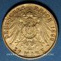 Münzen Hambourg. 20 mark 1899 J. (PTL 900‰. 7,96 g)