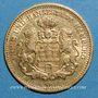 Münzen Hambourg. 5 mark 1877 J. (PTL 900‰. 1,9910 g)