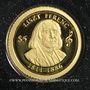Münzen Iles Cook. Elisabeth II (1952 -/). 5 dollars 2015 (PTL 999‰. 0,5 g)