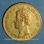 Münzen Italie. Sardaigne. Charles Albert (1831-1849). 20 lires 1849 P. Gênes. (PTL 900‰. 6,45 g)