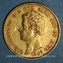 Münzen Italie. Sardaigne. Charles Albert (1831-1849). 20 lires 1849 P. Turin. (PTL 900‰. 6,45 g)