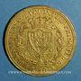 Münzen Italie. Sardaigne. Charles Félix (1821-1831).  80 lires 1825 L. Turin. (PTL 900‰. 25,80 g)
