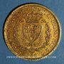 Münzen Italie. Sardaigne. Charles Félix (1821-1831).  80 lires 1829 P. Gênes. (PTL 900‰. 25,80 g)