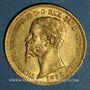 Münzen Italie. Sardaigne. Victor Emmanuel II (1849-1861). 20 lires 1852 P. Gênes. (PTL 900‰. 6,45 g)