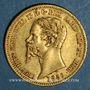 Münzen Italie. Sardaigne. Victor Emmanuel II (1849-1861). 20 lires 1856 P. Gênes. (PTL 900‰. 6,45 g)