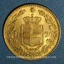 Münzen Italie. Umberto I (1878-1900). 20 lires 1882 R. Rome. (PTL 900‰. 6,45 g)