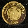 Münzen Nauru. République. 5 dollars 2008 (PTL 999‰. 0,5 g)