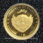 Münzen Palau. République. 1 dollar 2009 (PTL 999‰. 0,5 g)