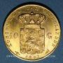 Münzen Pays Bas. Wilhelmine (1890-1948). 10 florins 1897. (PTL 900‰. 6,72 g)
