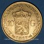 Münzen Pays Bas. Wilhelmine (1890-1948). 10 florins 1917. (PTL 900‰. 6,72 g)