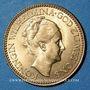 Münzen Pays Bas. Wilhelmine (1890-1948). 10 florins 1925. (PTL 900‰. 6,72 g)