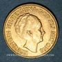 Münzen Pays Bas. Wilhelmine (1890-1948). 10 florins 1926. (PTL 900‰. 6,72 g)