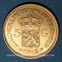 Münzen Pays Bas. Wilhelmine (1890-1948). 5 florins 1912. (PTL 900‰. 3,36 g)