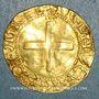 Münzen Portugal. Jean III (1512-1557). Cruzado à l'écu aux huit chateaux, petit module